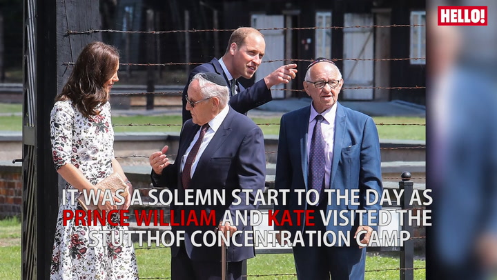 The Duke And Duchess Of Cambridge Visit Stutthof Concentration Camp During Their Royal Tour Of Poland And Germany