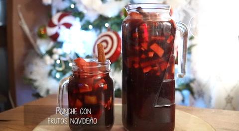 Cocinando con Mayte: Ponche con frutas navideño