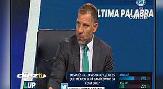 Las duras críticas de Alberto García Aspe a Jorge Luis Pinto