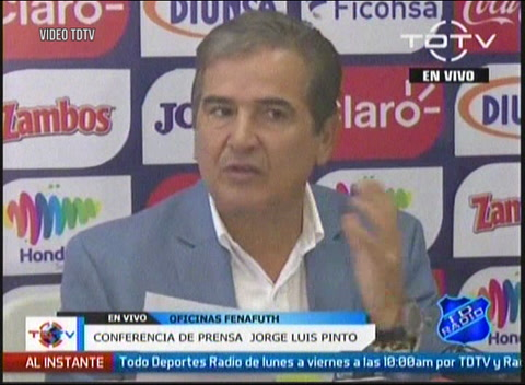 Pinto anuncia convocatoria de Honduras para enfrentar a México y Panamá