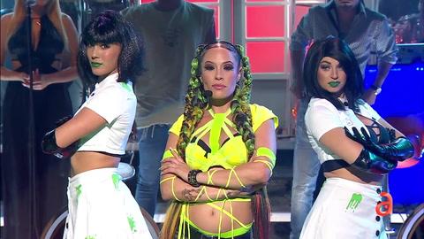 La cantante Tanishka canta Toxico en TN3
