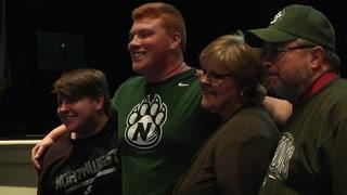 Bolivar's Zach Howard signs with Northwest Missouri State Football