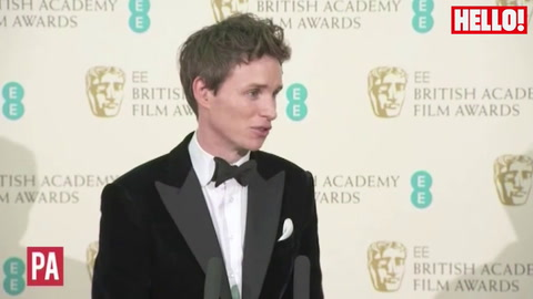 Eddie Redmayne: I was very lucky to play Stephen Hawking