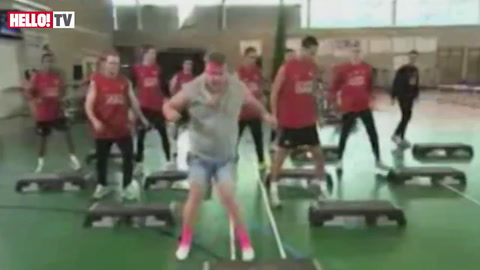 James Corden\'s Smithy puts Man Utd players through their paces