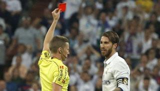 Sergio Ramos, sancionado con un partido por expulsión ante Barcelona