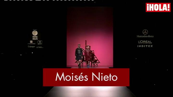 Fashion Week Madrid otoño-Invierno 2015-2016: Moisés Nieto