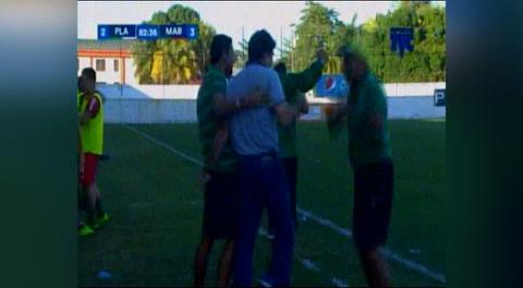 Gol de Jhon Suazo al Platense (Liga Nacional 2018)