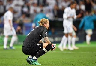 Los graves errores de Loris Karius que lo crucificaron en la final de la Champions League ante el Real Madrid