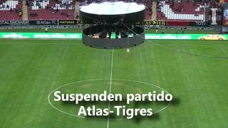 Suspenden partido Atlas-Tigres