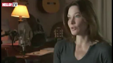 Carla Bruni talks about marriage to Nicolas Sarkozy
