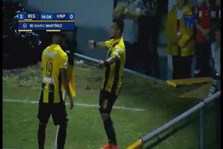 ¡GOL DE REAL ESPAÑA! Mario Martínez hace el 3-0 sobre Honduras Progreso