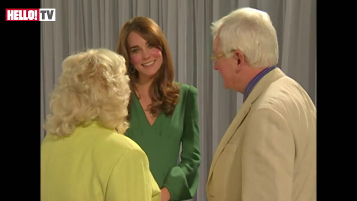 Kate makes first public appearance since leaving hospital