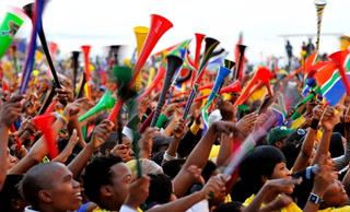 Así era el ruido ensordecedor de las vuvuzelas en la Copa del Mundo 2010