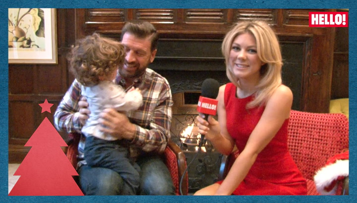 Nick and Jessica Knowles reunite to support Great Ormond Street Hospital in its campaign to keep families together this Christmas