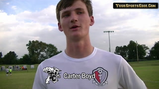 Carter Boyd on Wildcat Win