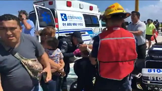 Estallido de ferri en Caribe mexicano deja 18 heridos