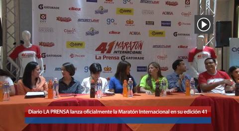Diario LA PRENSA lanza oficialmente la Maratón Internacional en su edición 41