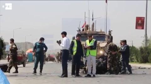 Un ataque suicida contra un convoy de la OTAN deja tres heridos en Kabul