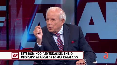 El ex alcalde de Miami Tomar Regalado habla sobre su capítulo de Leyendas del Exilio