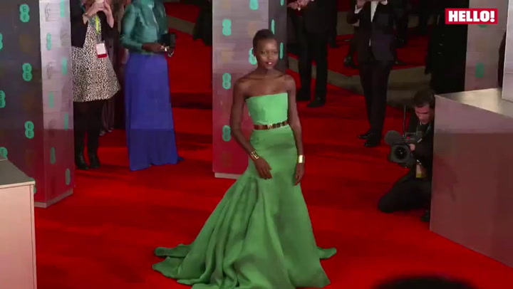 BAFTA Film Awards: Prince William, Angelina Jolie, Helen Mirren, Leo DiCaprio, Lupita Nyong\'o and Bradley Cooper among stars on the red carpet