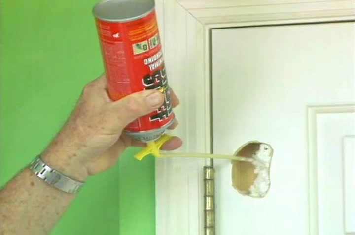& How to Repair a Hole in a Hollow Core Door u2022 DIY Projects u0026 Videos