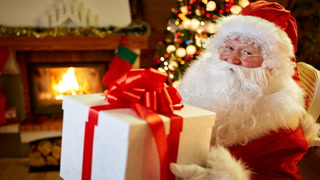 A listener's experience taking his son to meet with Santa