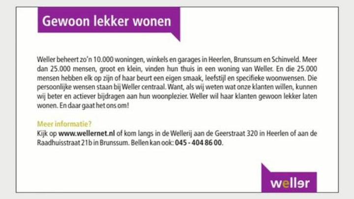 Weller Woningstichting - Video tour
