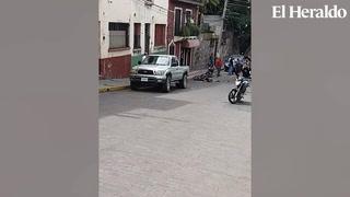 Víctimas de asalto persiguen y linchan a ladrón en Tegucigalpa
