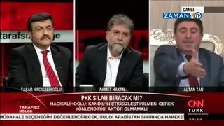 Altan Tan: Şuan Kandil silah bırakıyorum dese AKP seçime kadar istemez