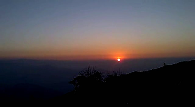 Darjeeling Videos-memoerable sunrise