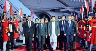 ملائیشیا کے وزیراعظم مہاتیرمحمد 3روزہ دورے پر پاکستان پہنچ گئے