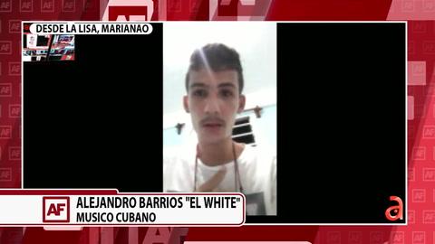 Juan Manuel Cao entrevista al músico cubano El White tras sus polémicas declaraciones en las redes sociales