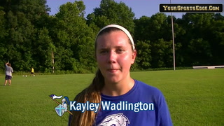 Wadlington Talks About Improvement
