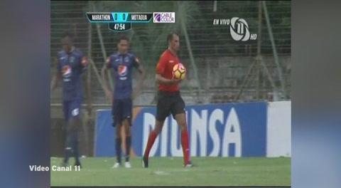 Marathón 1 - 0 Motagua (Liga Nacional Honduras)
