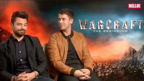 Dominic Cooper and Toby Kebbell talk about the world of their new film Warcraft