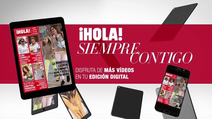 Ya puedes disfrutar en tu tablet y tu móvil del último número de la revista ¡HOLA!