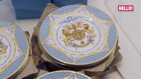 Official range of china to celebrate the 90th birthday of The Queen goes on sale