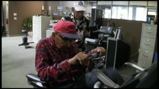 A sus 105 años, sobreviviente de Pearl Harbor va al gimnasio