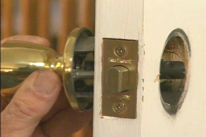 How to Replace a Door Latch and Knob • DIY Projects & Videos