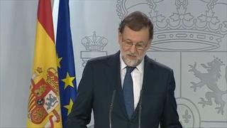 Rajoy iniciará trámites para intervenir en gobierno de Cataluña
