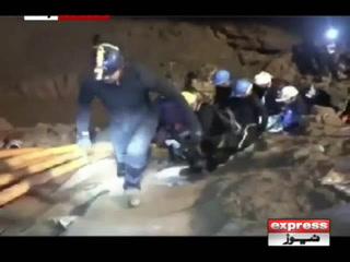 تھائی لینڈ کے غارمیں پھنسے تمام بچوں کو کوچ سمیت نکال لیا گیا