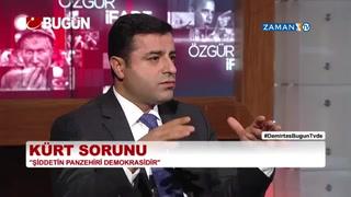 Selahattin Demirtaş: Şiddet istiyorum diyen bize oy vermesin