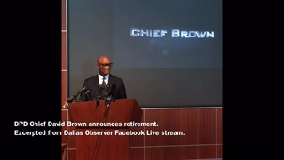 DPD Chief Brown Announces Retirement