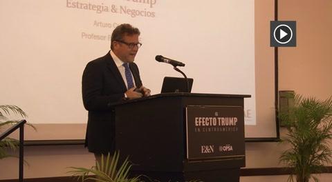 Profesor de INCAE analiza el  efecto Trump en Centroamérica
