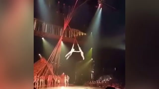 Mortal caída de un acróbata del Cirque du Solei en Florida