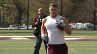 MSU's Cole, Shantz workout for NFL scouts