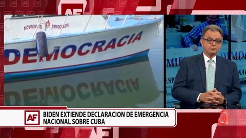 ¿Qué significa que Biden extienda la declaración de Emergencia Nacional sobre Cuba?