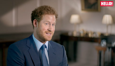 Prince Harry reflects on following in the Queen\'s footsteps