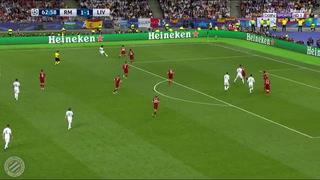 Gareth Bale anota el 2-1 para Real Madrid ante Liverpool en la final de la Champions