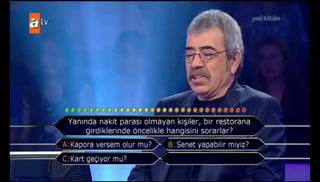Milyoner'de ODTÜ'lü öğrenciden güldüren yanıt